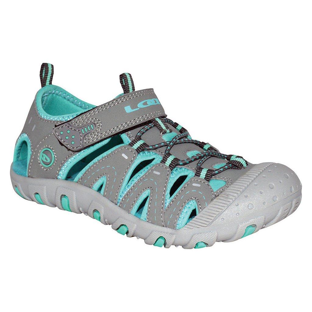 Dětské sandály LOAP Bam šedá