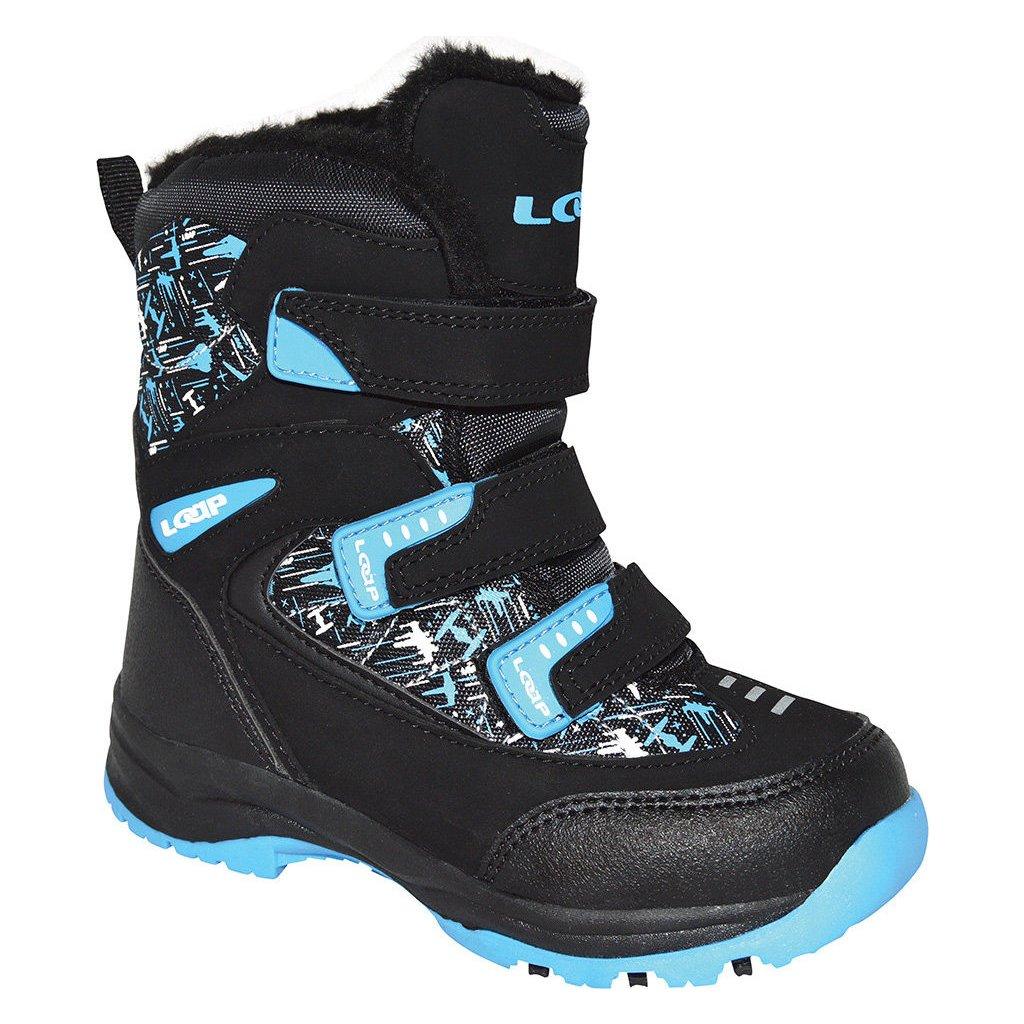 Dětské zimní boty LOAP Nao černá