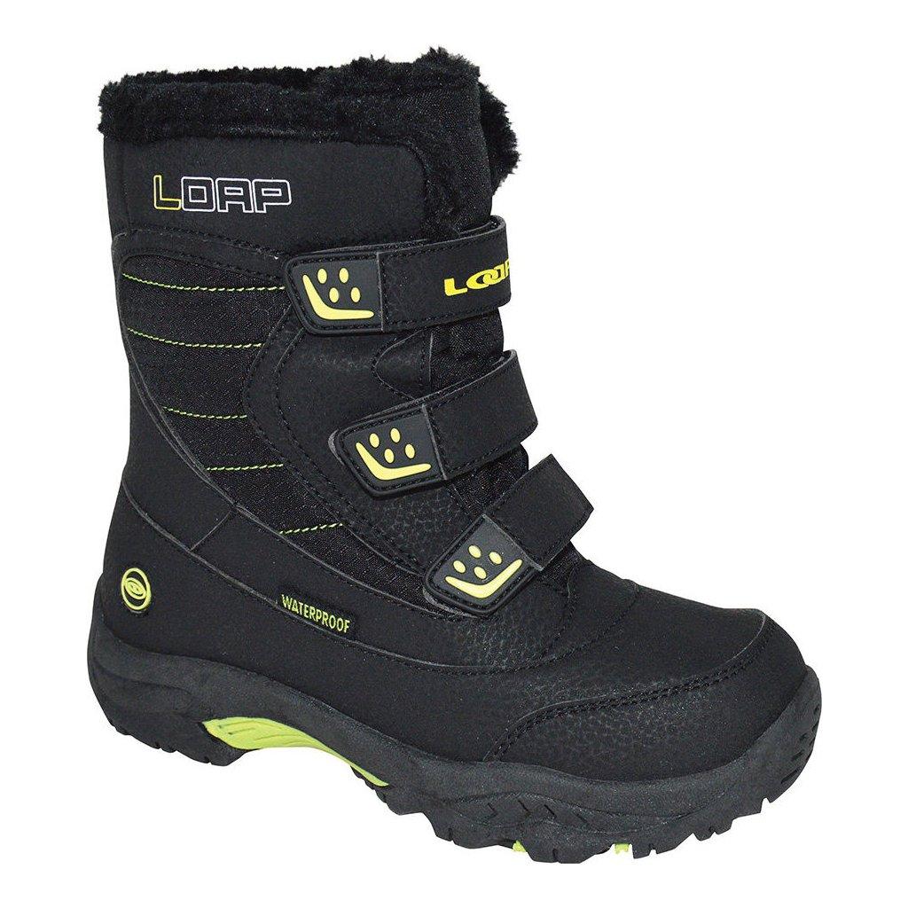 Dětské zimní boty LOAP Kittay černá