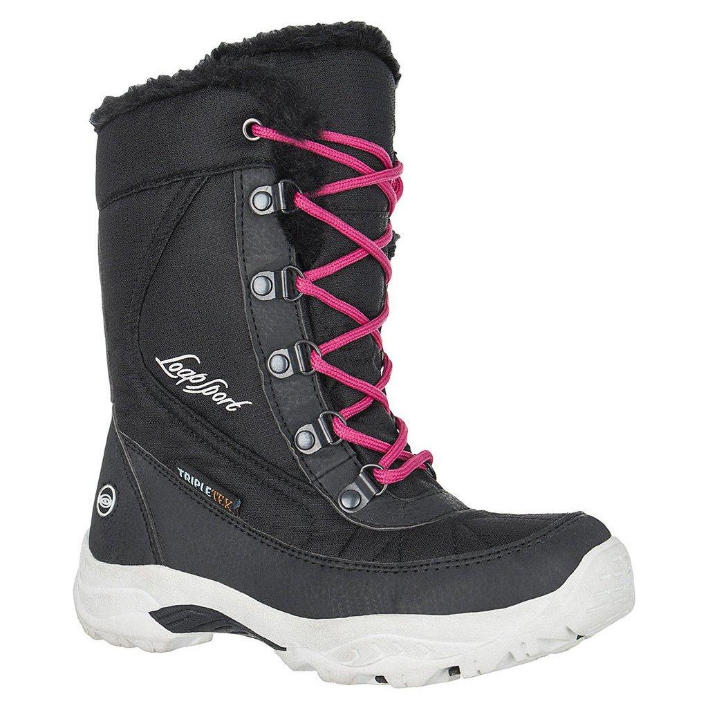 Dětské zimní boty LOAP Ice Kid černá