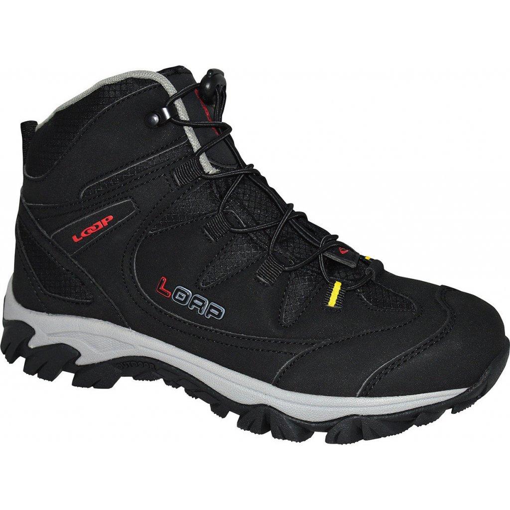 Pánské outdoorové boty LOAP Kicker černá