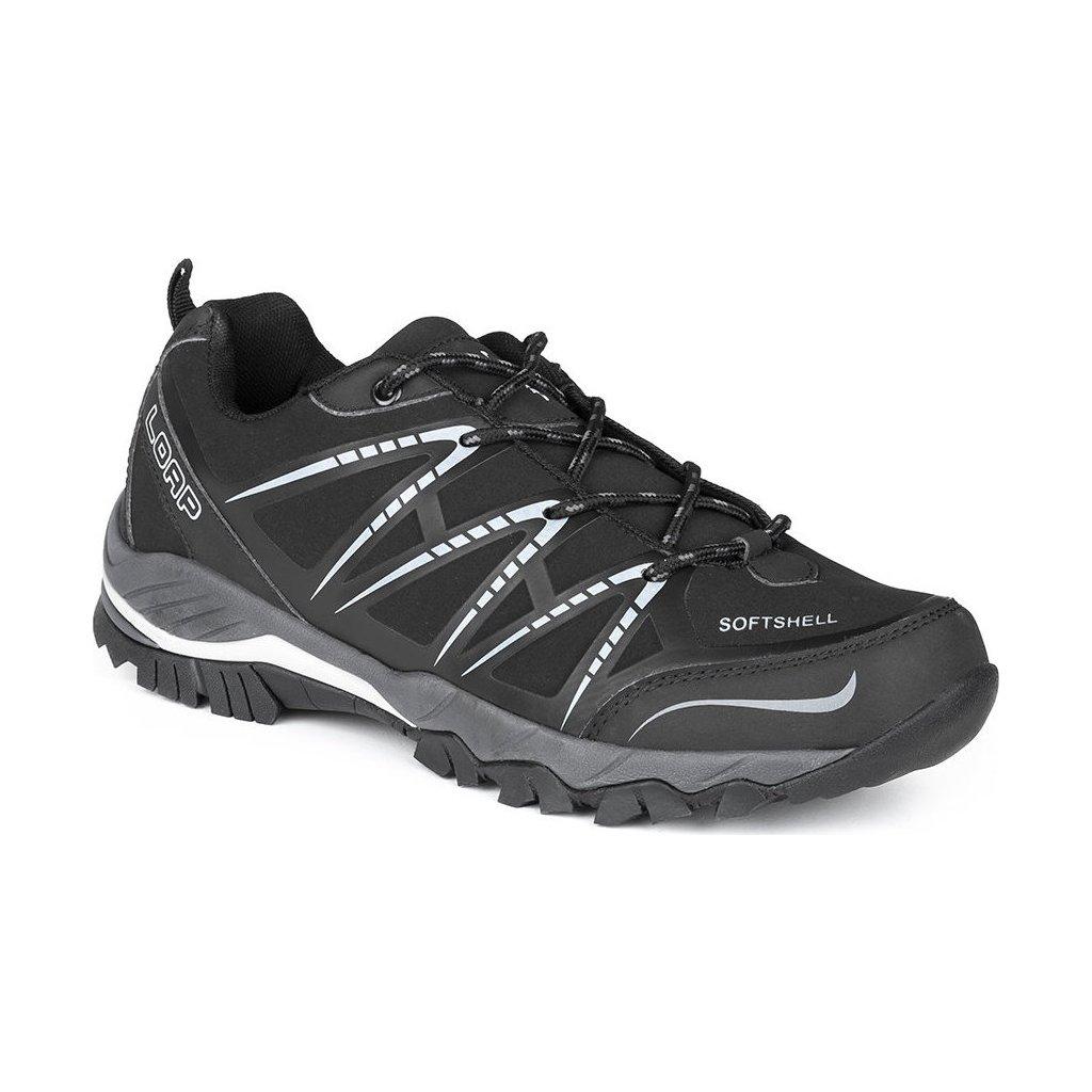 Pánské outdoorové boty LOAP Erskine černá