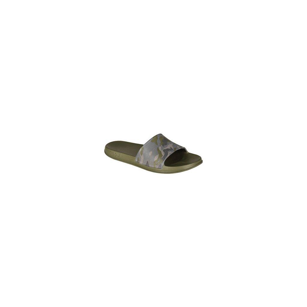 Pánské pantofle LITEX Coqui Tora khaki