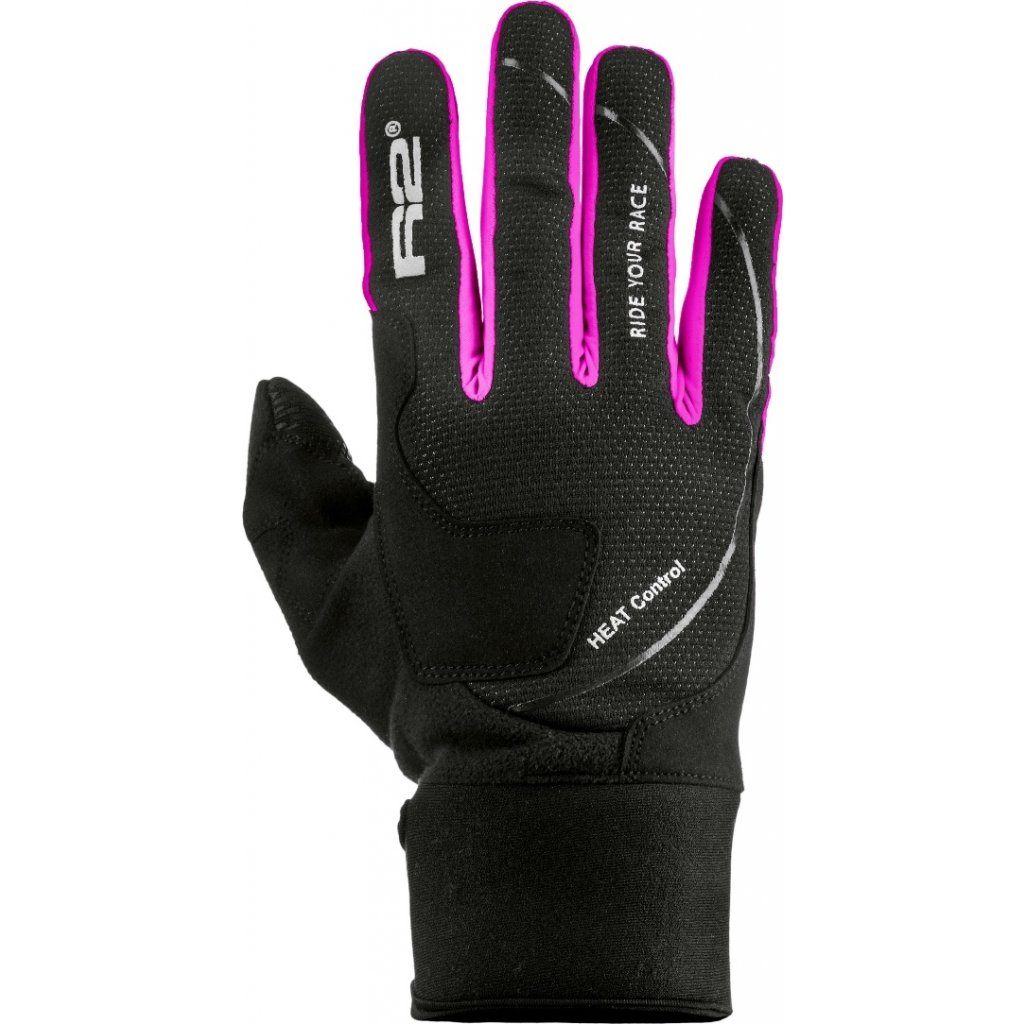 Zateplené rukavice R2 Blizzard černá