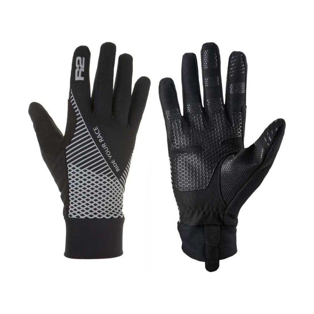 Zateplené rukavice R2 Slider černá