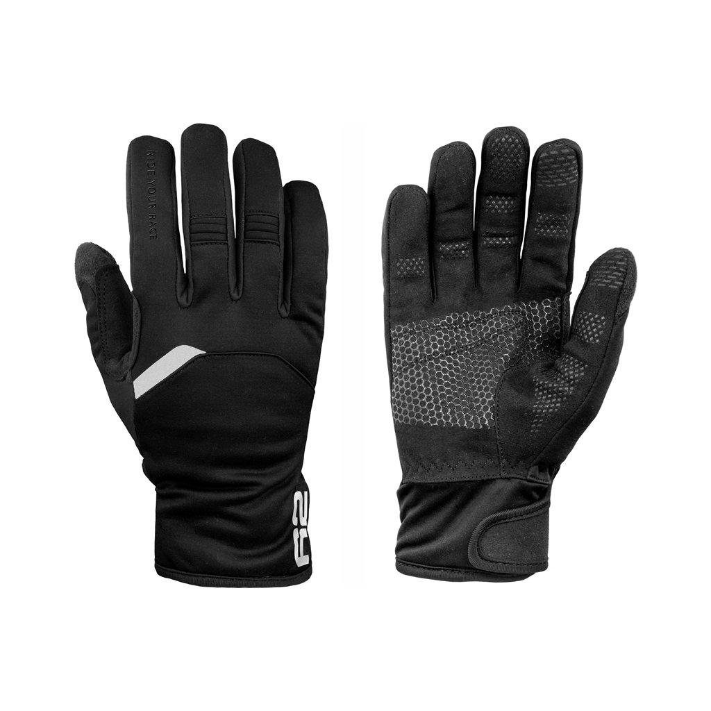 Zateplené rukavice R2 Storm černá