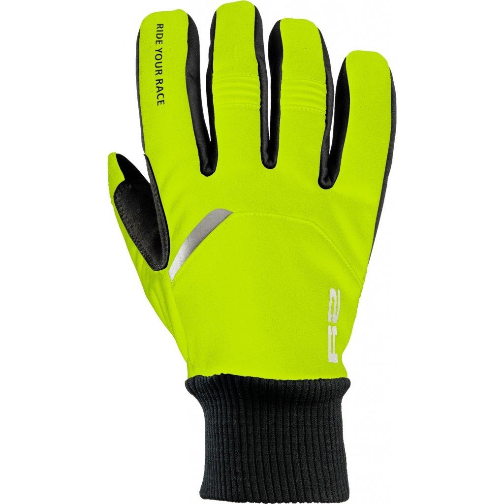 Zateplené rukavice R2 Storm žlutá