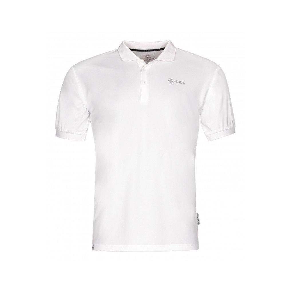 Pánské funkční polo tričko KILPI Collar-m bílá