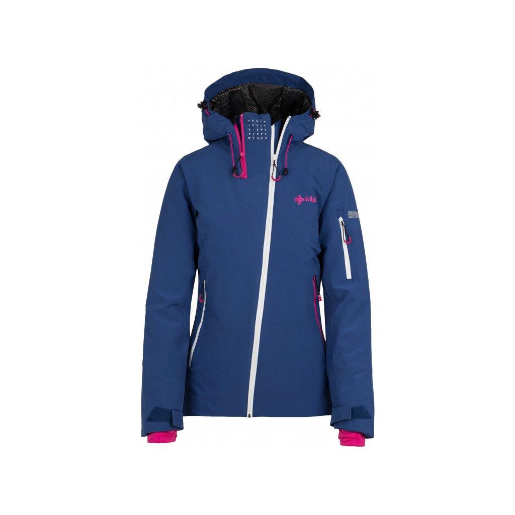 Dámská lyžařská bunda KILPI Asimetrix-w tmavě modrá