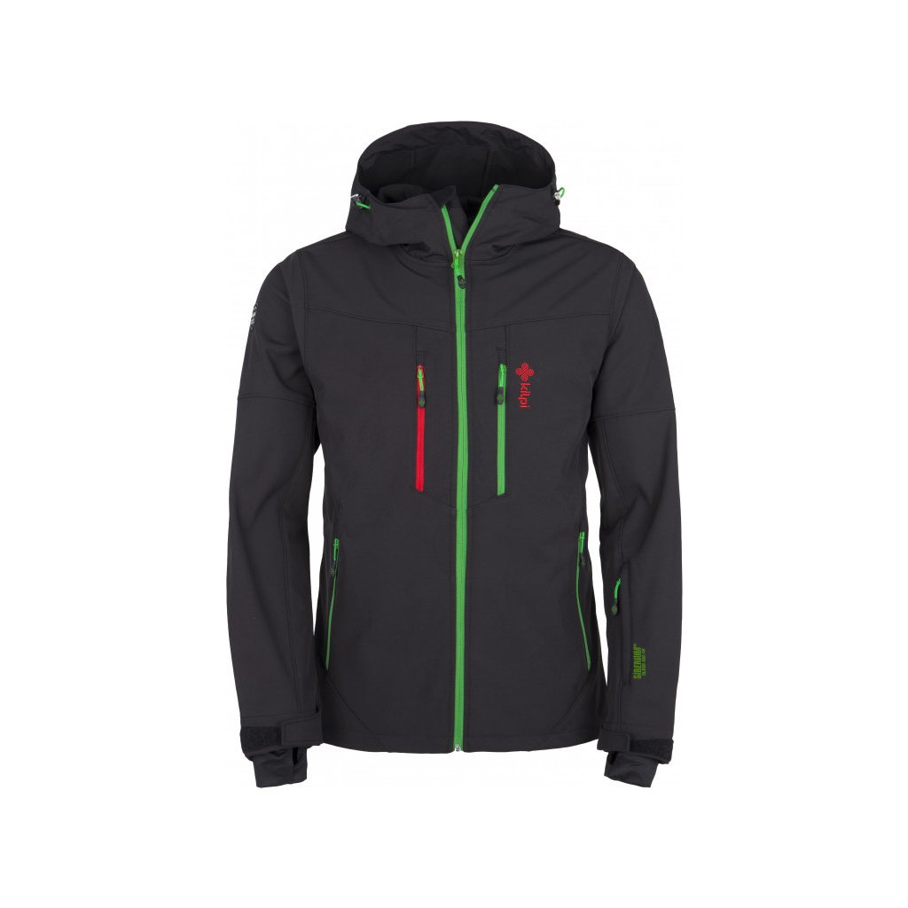 Pánská zimní softshellová bunda KILPI Axis-m černá