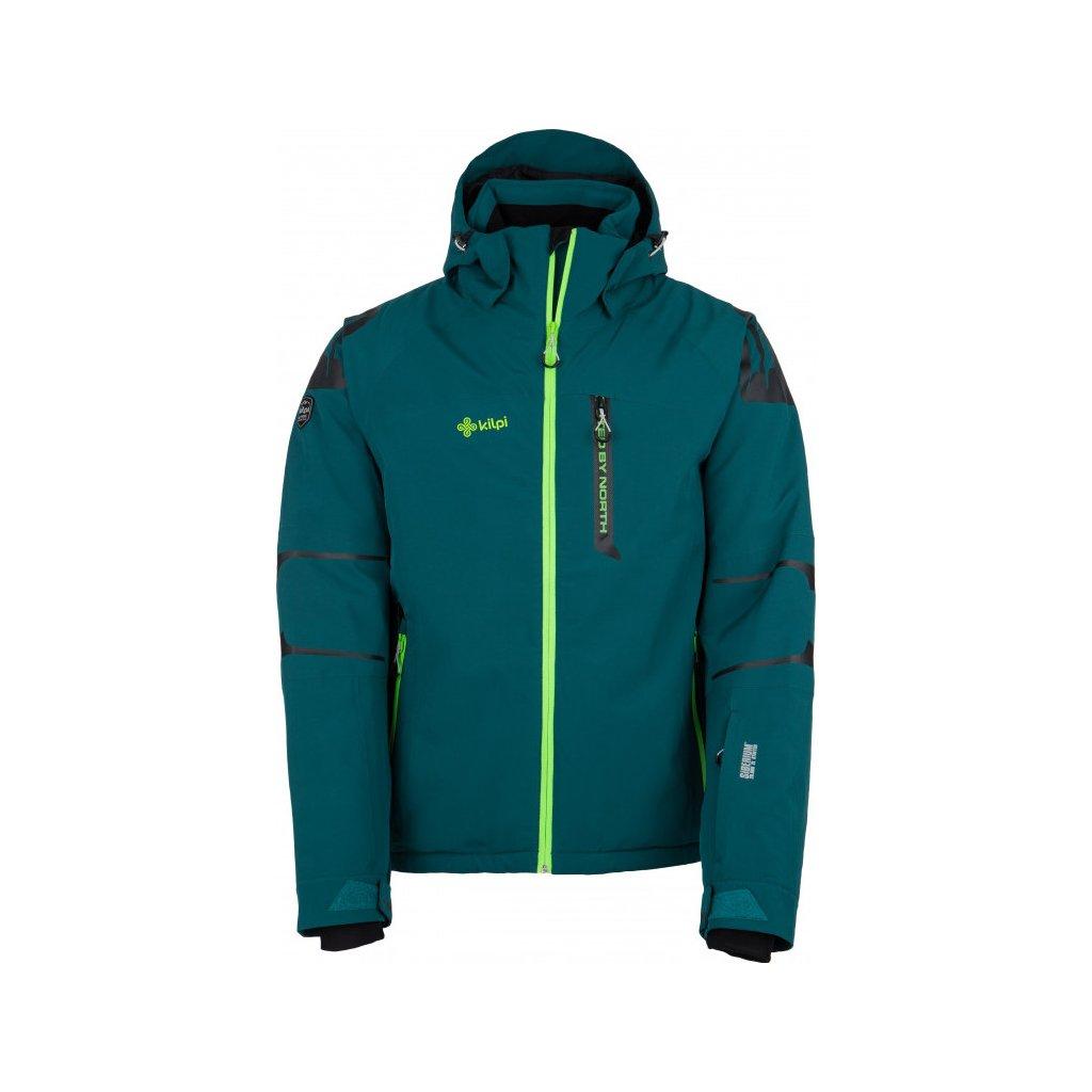 Pánská lyžařská bunda KILPI Carpo-m tyrkysová