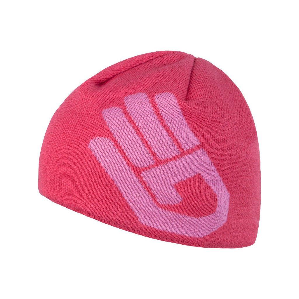 Dámská čepice SENSOR Hand růžová