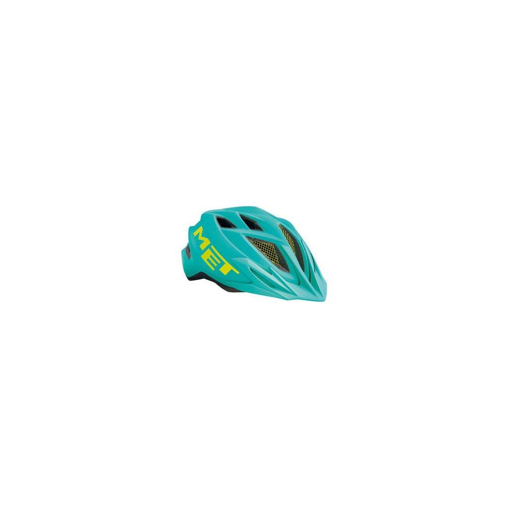 MET přilba CRACKERJACK 2020 emerald zelená -52/57