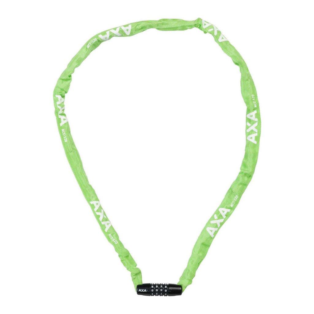 AXA zámek Rigid chain RCC 120 kód zelená