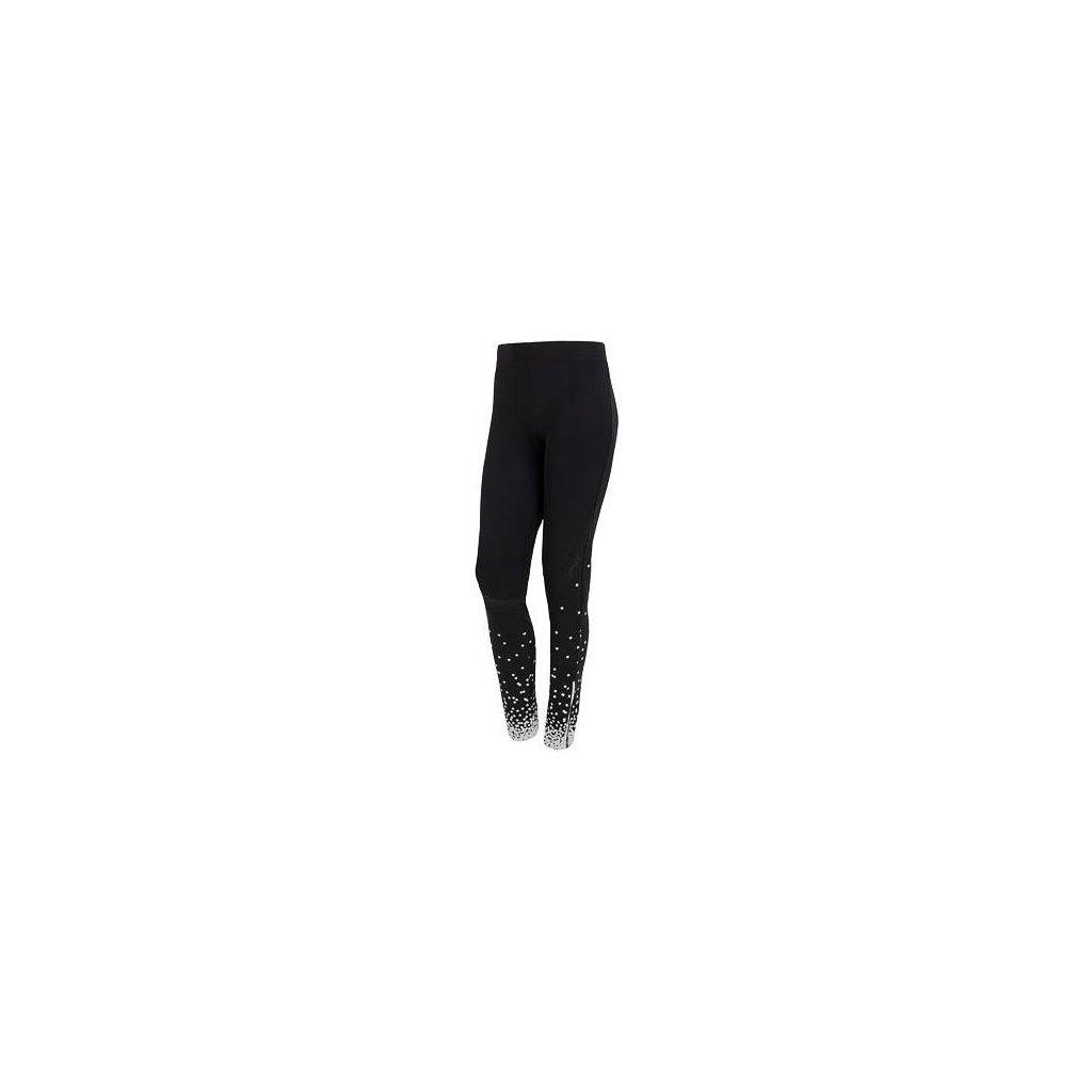 SENSOR DOTS dámské kalhoty dlouhé černá/bílá