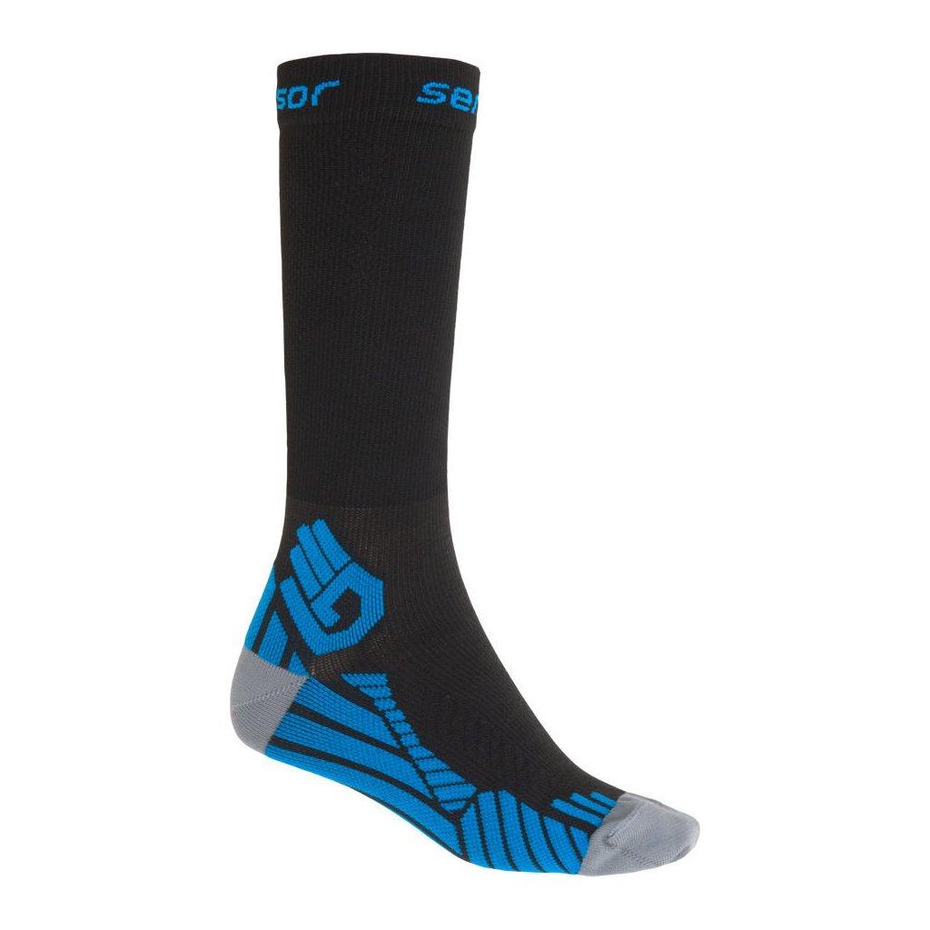 Ponožky SENSOR Compress čená