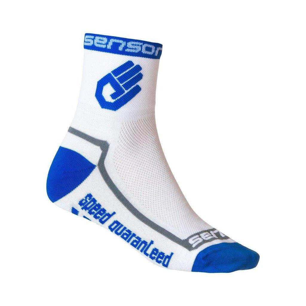 Ponožky SENSOR Race lite hand modrá
