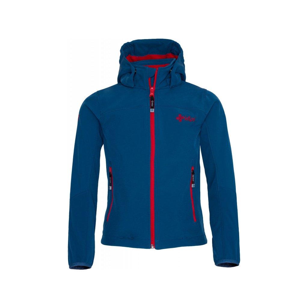 Chlapecká softshellová bunda KILPI Elio-j tmavě modrá