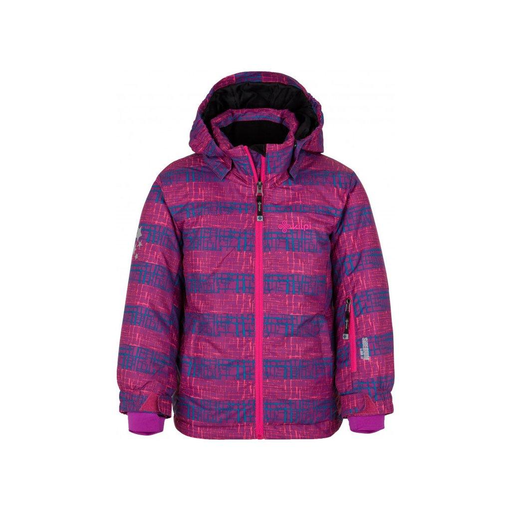 Dívčí lyžařská bunda KILPI Genovesa-jg fialová
