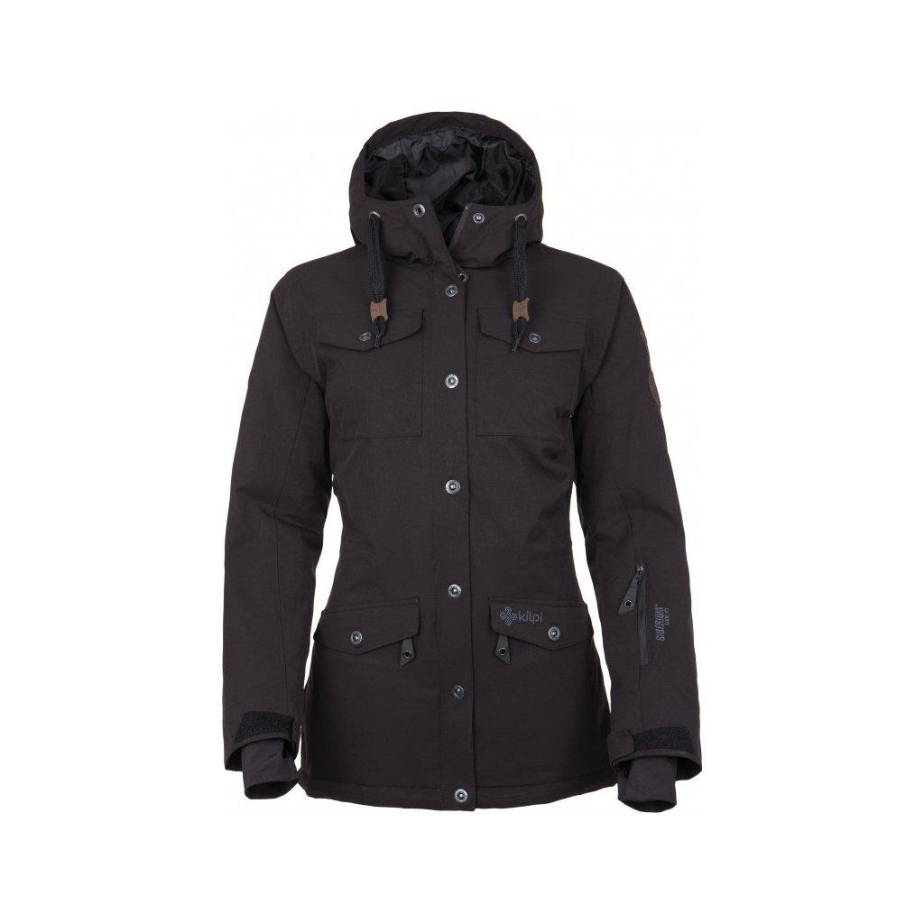 Dámská lyžařská bunda KILPI Geisa-w černá