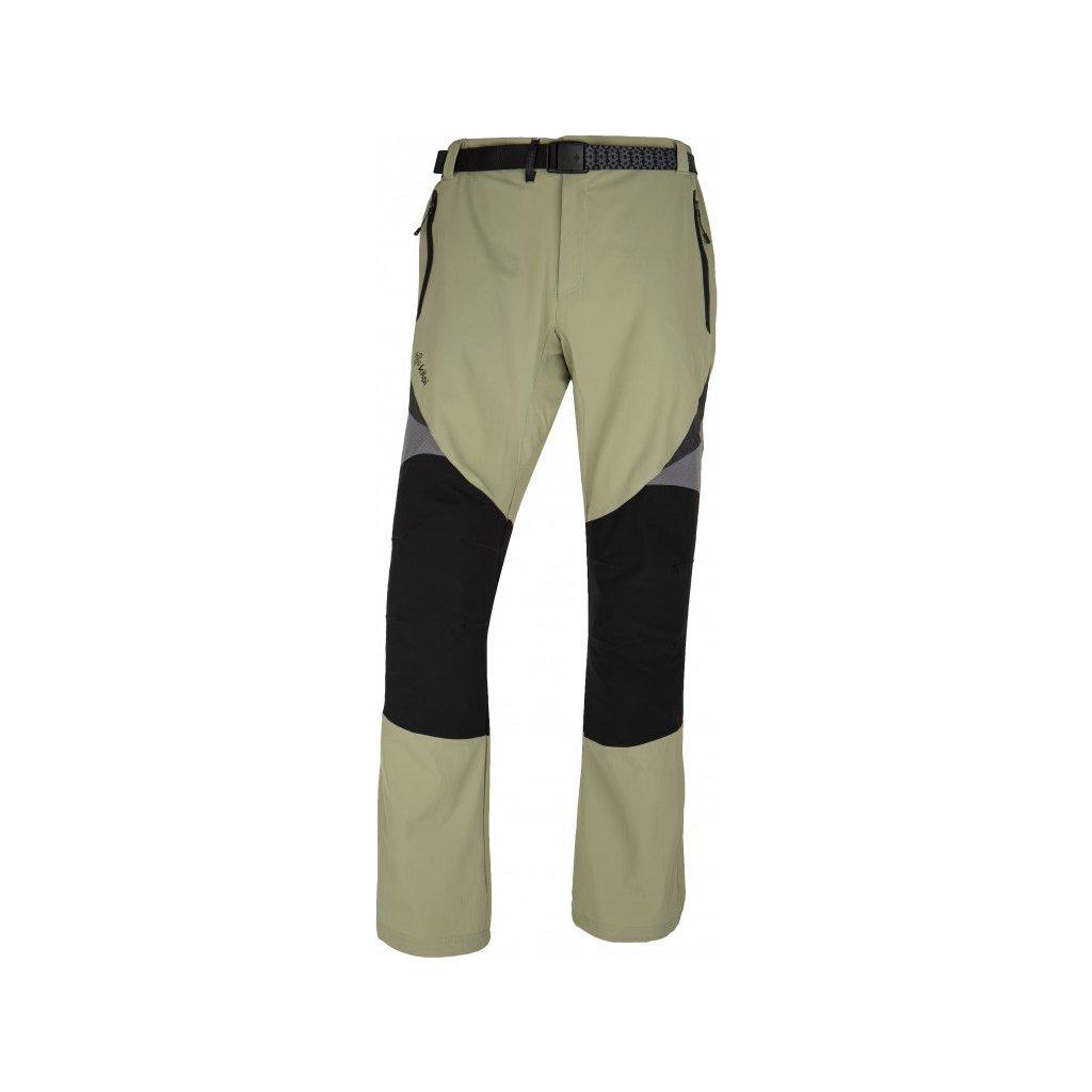Pánské outdoorové kalhoty KILPI Highlander-m khaki