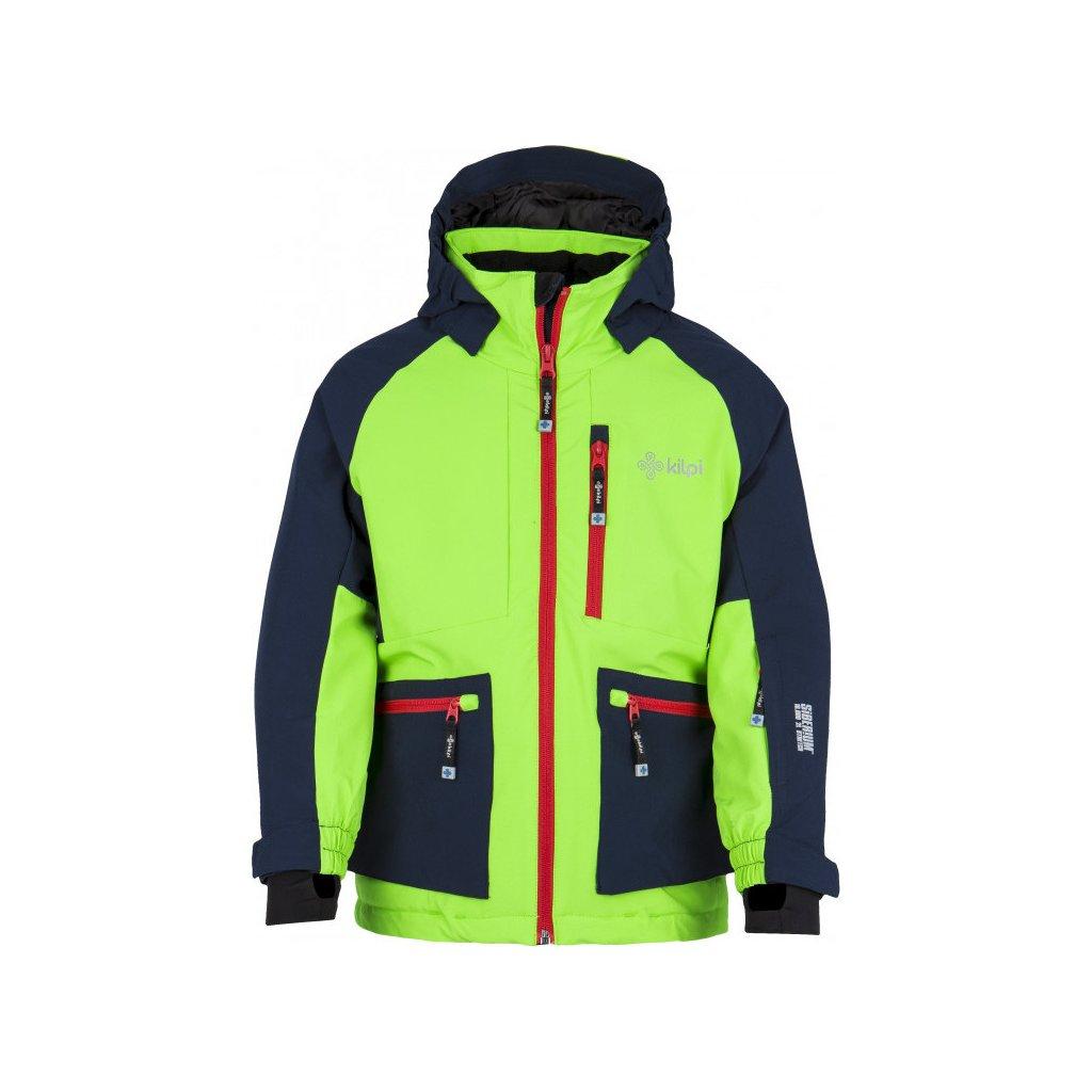 Chlapecká zimní bunda KILPI Jackyl-jb světle zelená