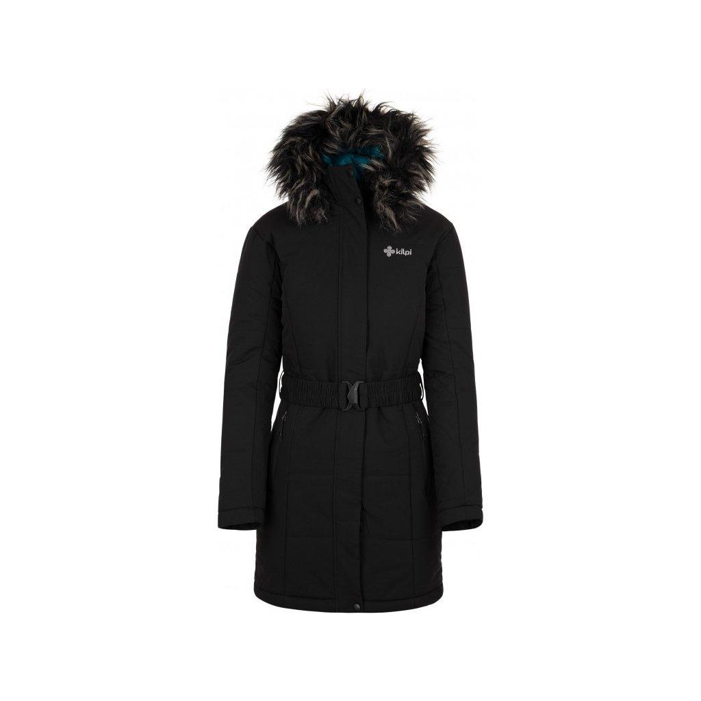 Dámský zimní kabát KILPI Keto-w černá