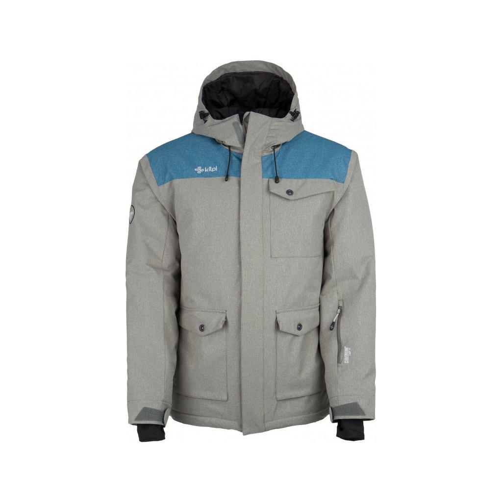 Pánská zimní bunda KILPI Baker-m melange