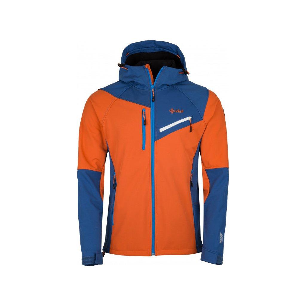 Pánská zimní softshellová bunda KILPI Zenith-m oranžová