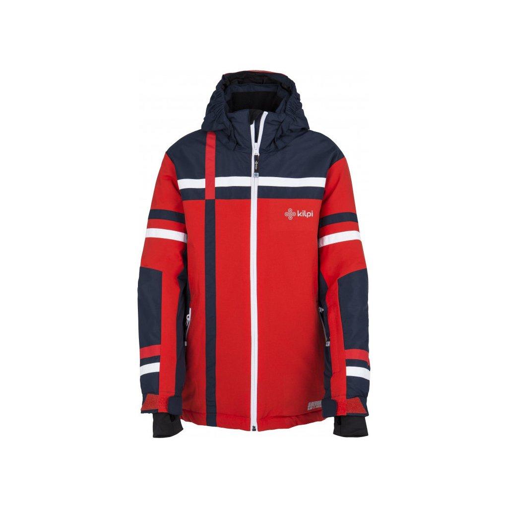Chlapecká zimní bunda KILPI Titan-jb červená