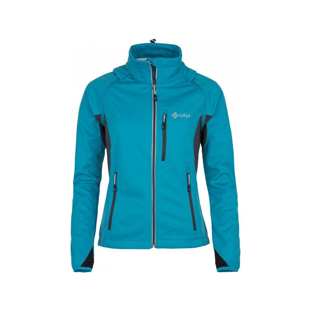 Dámské softshellová bunda/vesta KILPI Transformer-w světle modrá