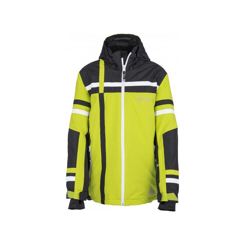 Chlapecká zimní bunda KILPI Titan-jb světle zelená