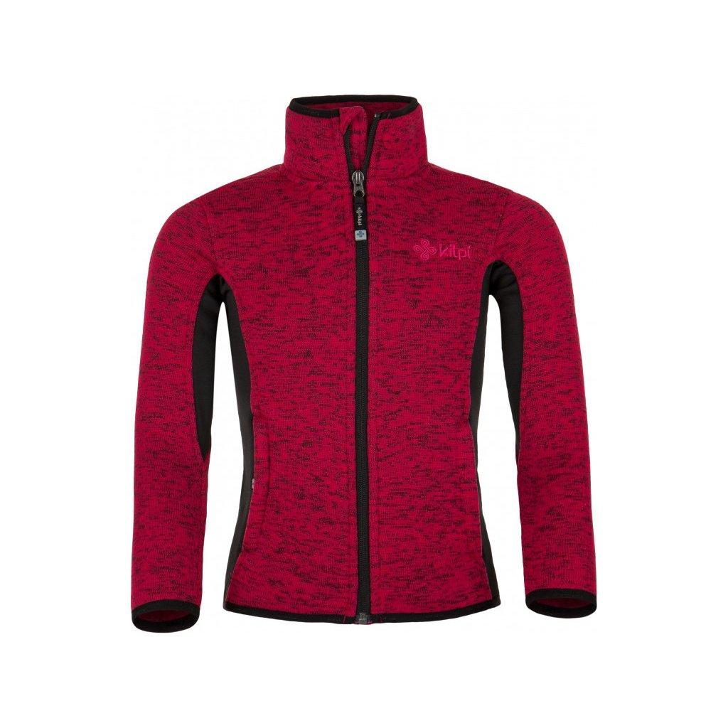 Dívčí fleecový svetr KILPI Rigana-jg růžová