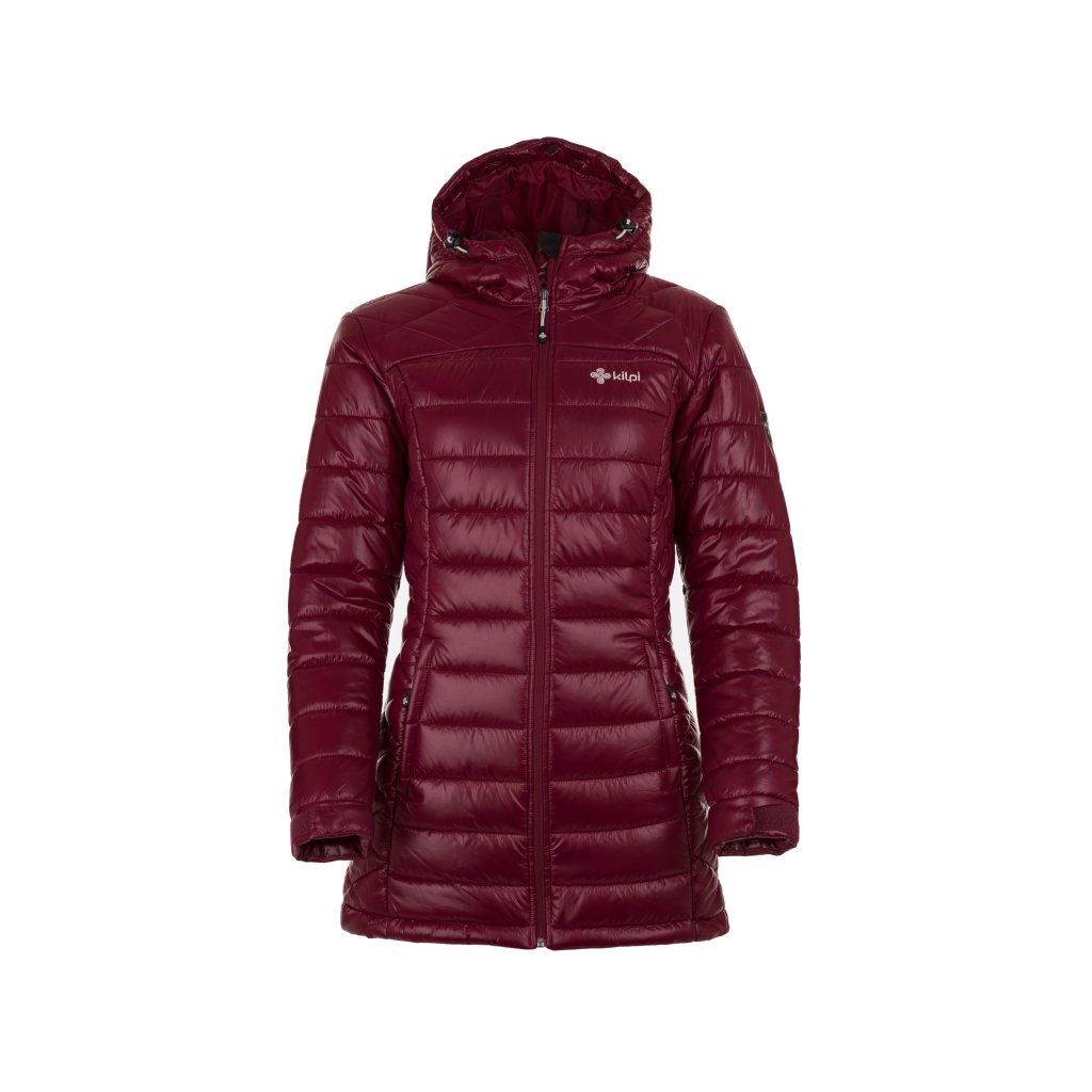 Dámský zimní kabát KILPI Sydney-w červená