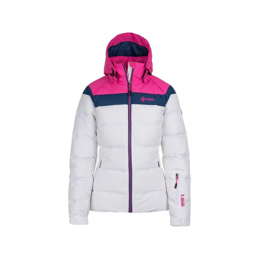 Dámská péřová lyžařská bunda KILPI Synthia-w bílá