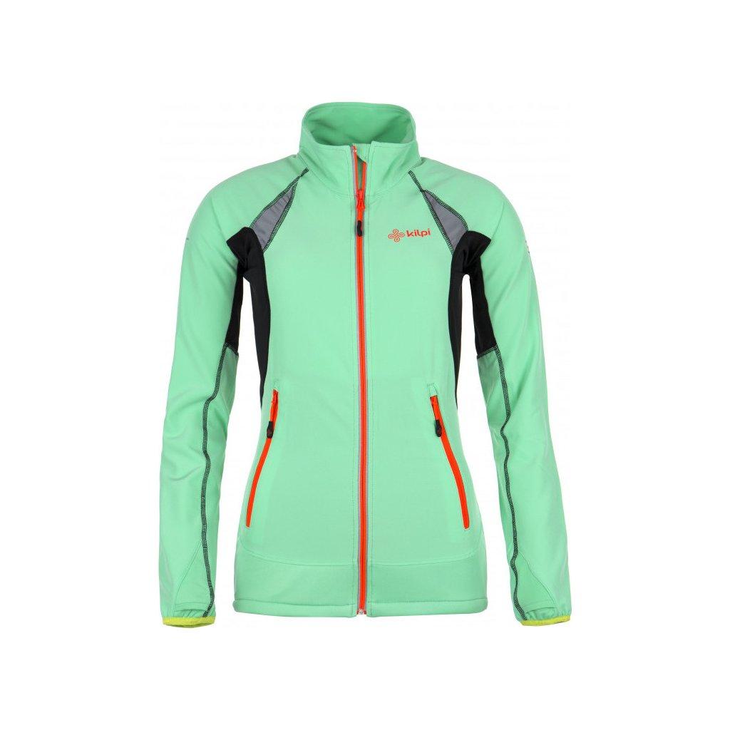 Dámská softshellová bundaKILPI Nordim-w světle zelená