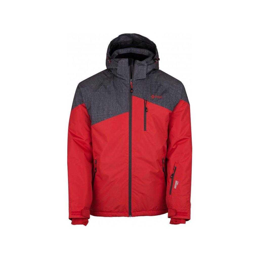 Pánská lyžařská bunda KILPI Oliver-m červená