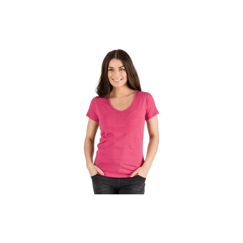 Dámské triko SAM 73 s krátkým rukávem růžová