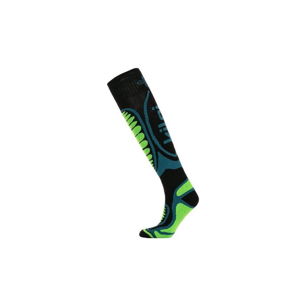 Lyžařské merino ponožky KILPI Anxo-u zelená