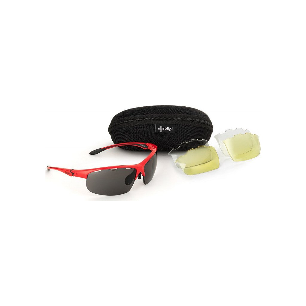Sportovní sluneční brýle KILPI Mori-u červená