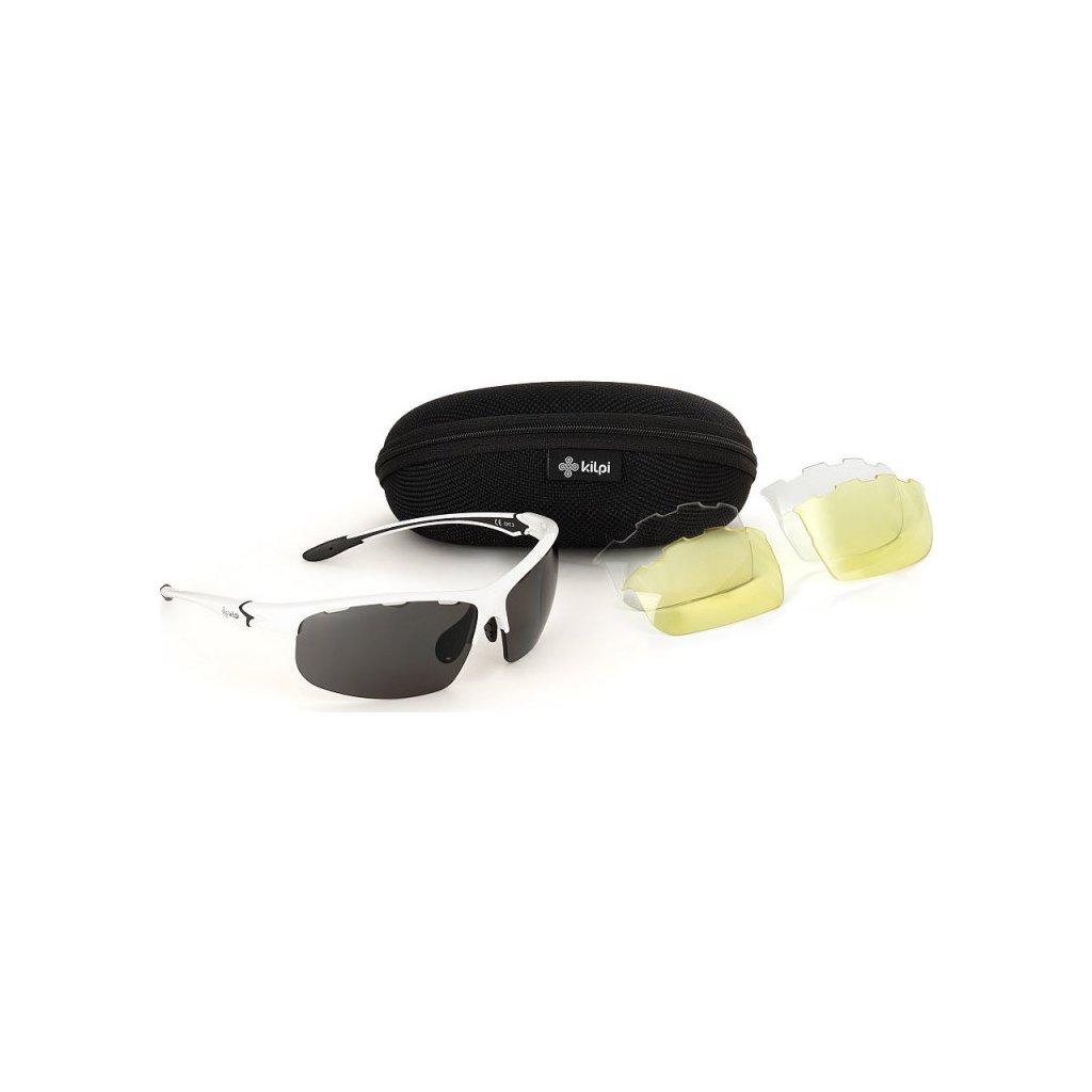 Sportovní sluneční brýle KILPI Mori-u bílá