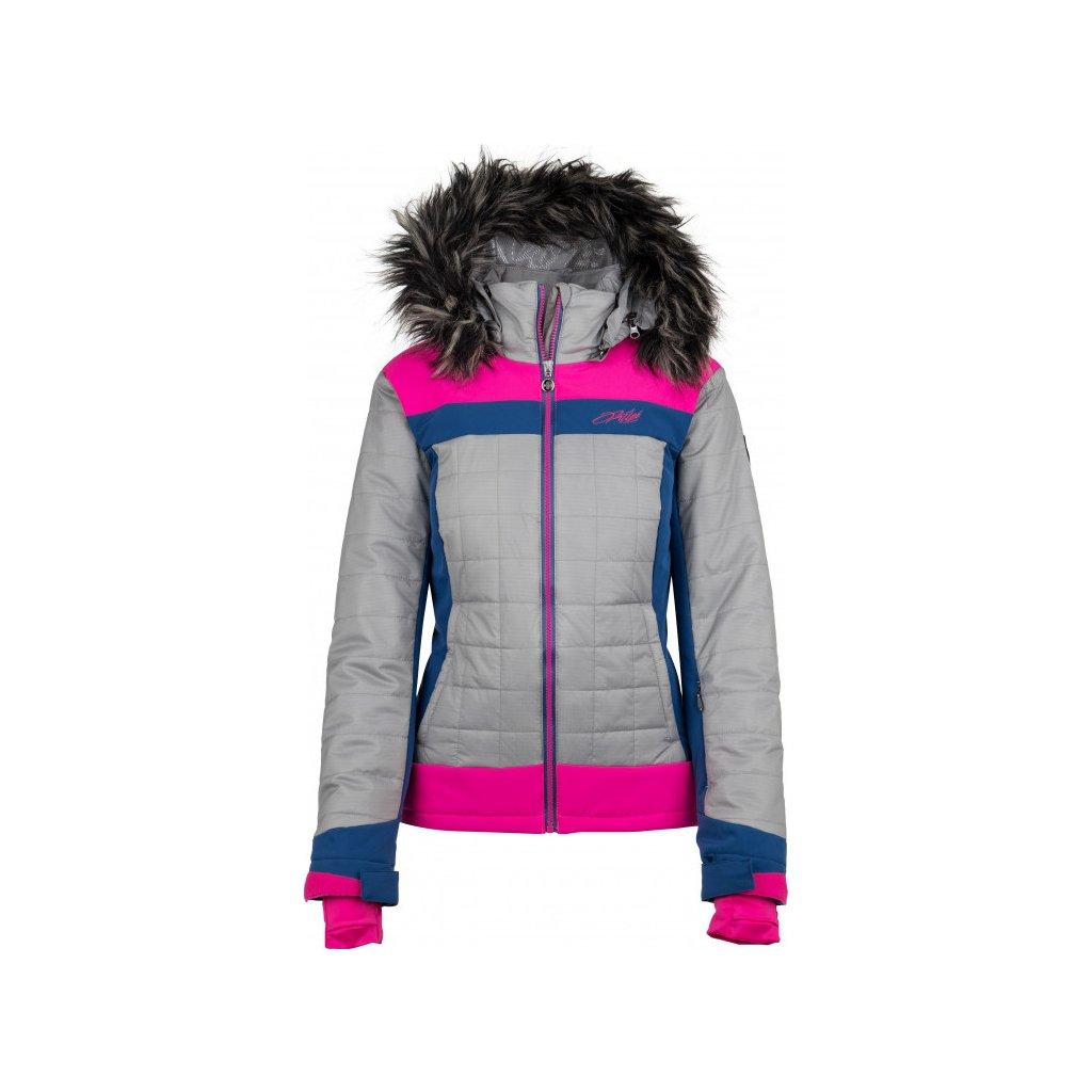 Dámská lyžařská bunda KILPI Leda-w růžová