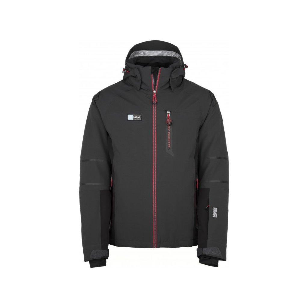 Pánská lyžařská bunda KILPI Carpo-m tmavě šedá