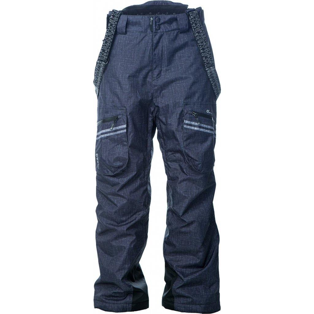 Lyžařské kalhoty O'STYLE Nivalis tmavě šedé