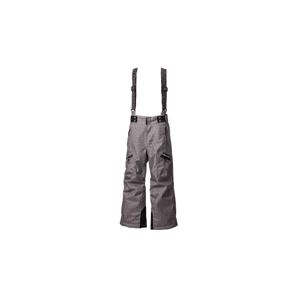 Lyžařské kalhoty O'STYLE Val šedé