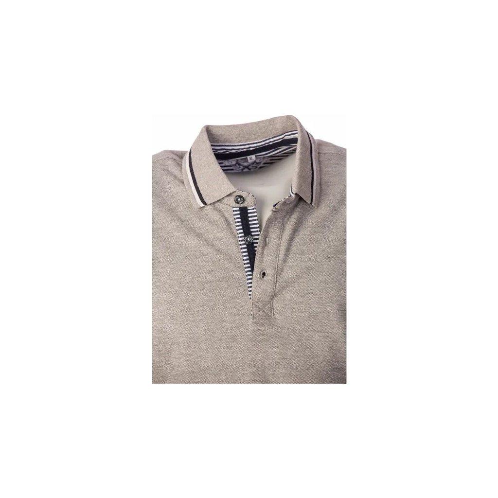 Pánské bavlněné triko O'STYLE Jose šedé