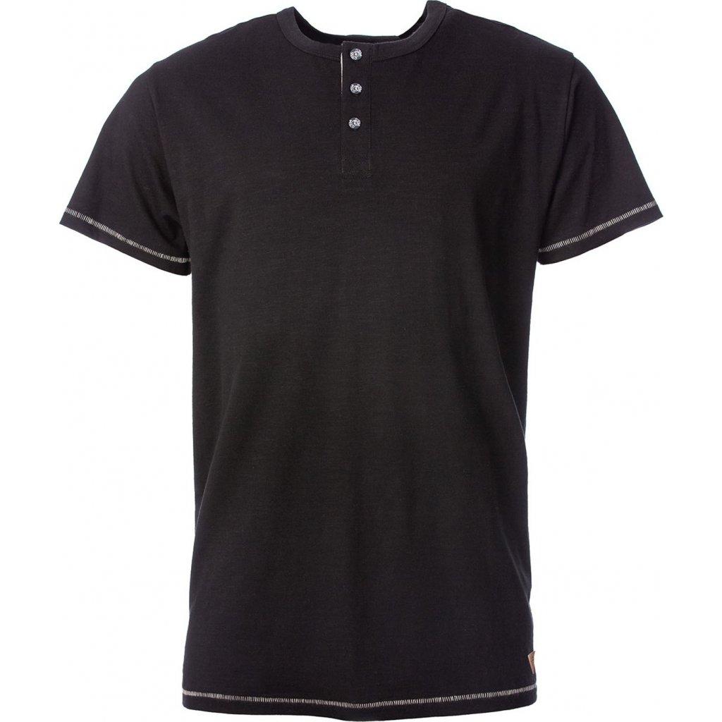 Pánské bavlněné triko O'STYLE Perry černé