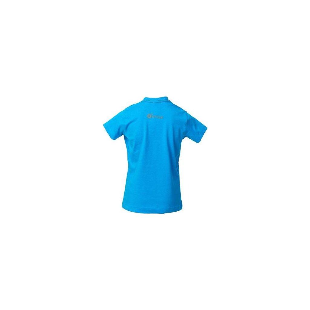 Dětské bavlněné triko O'STYLE Campfire modré