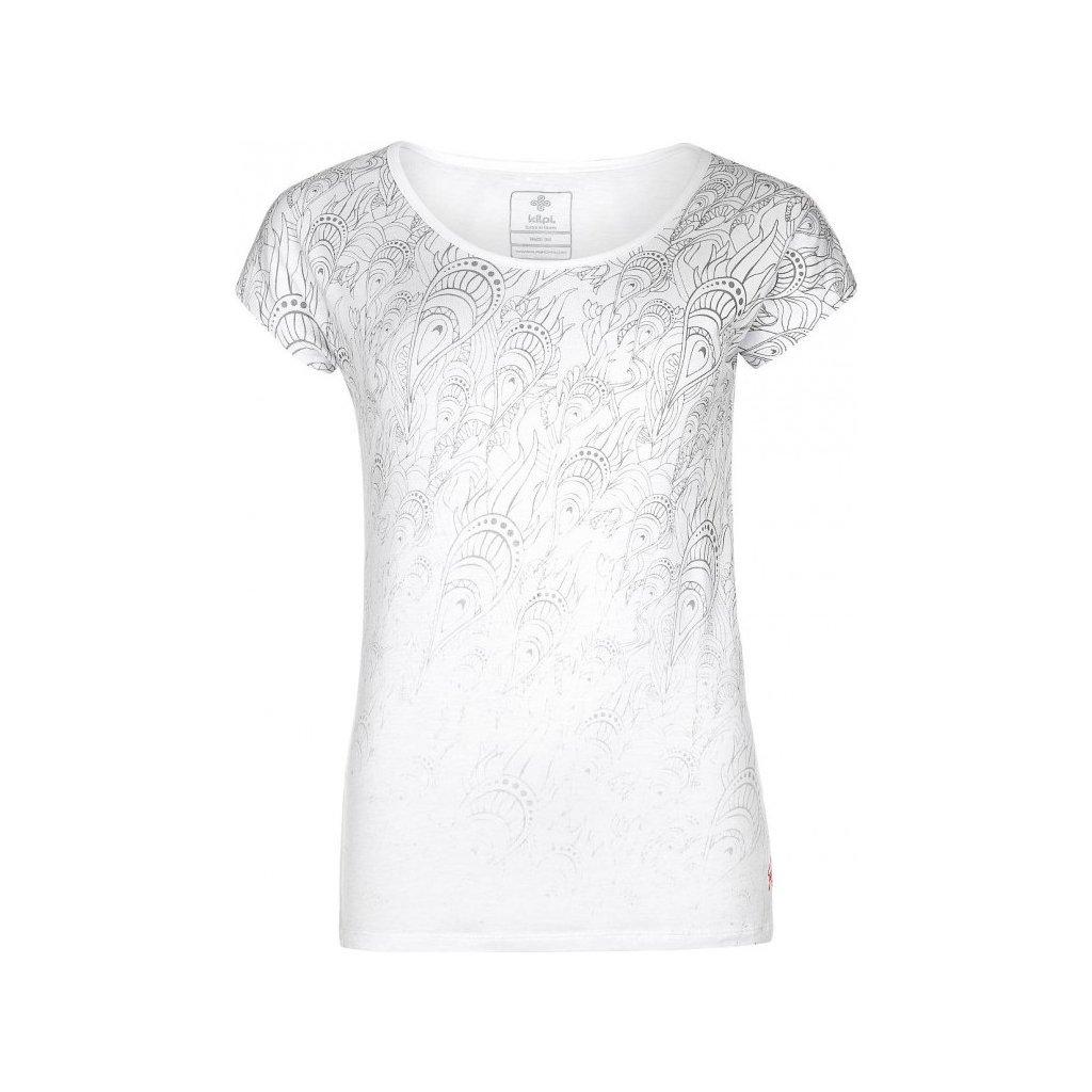 Dámské tričko KILPI Christie-w bílá
