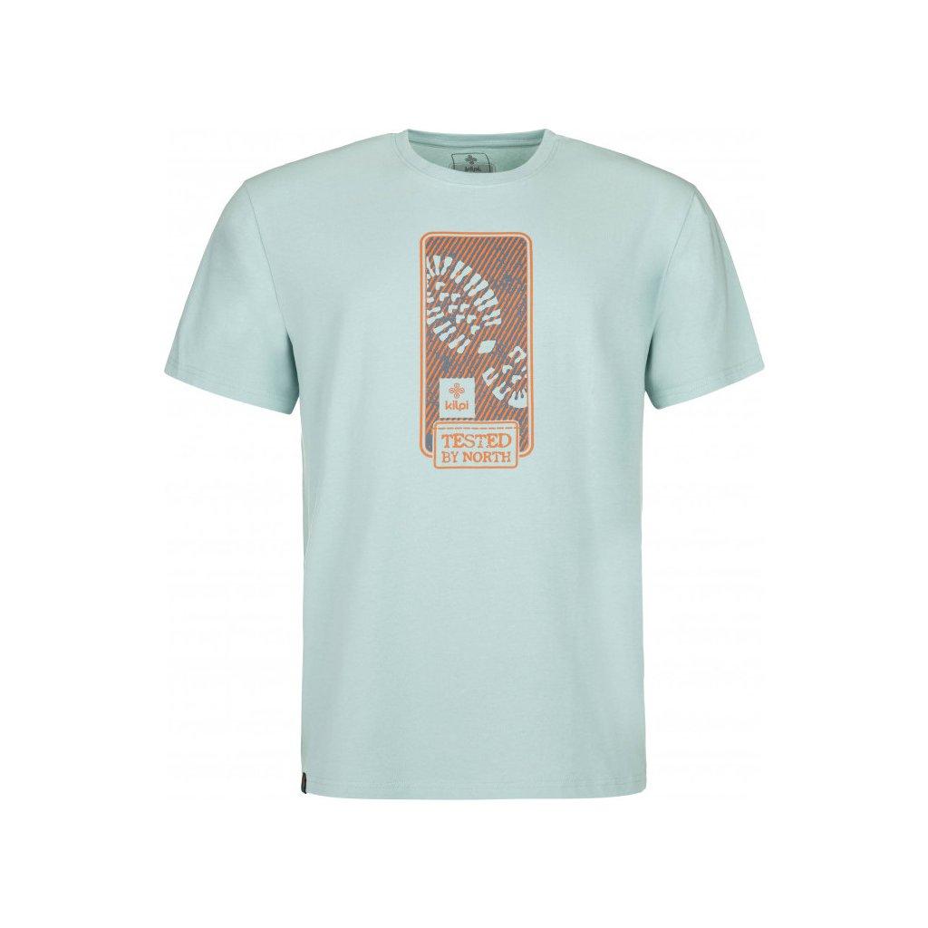 Pánské bavlněné tričko KILPI Booty-m světle modrá